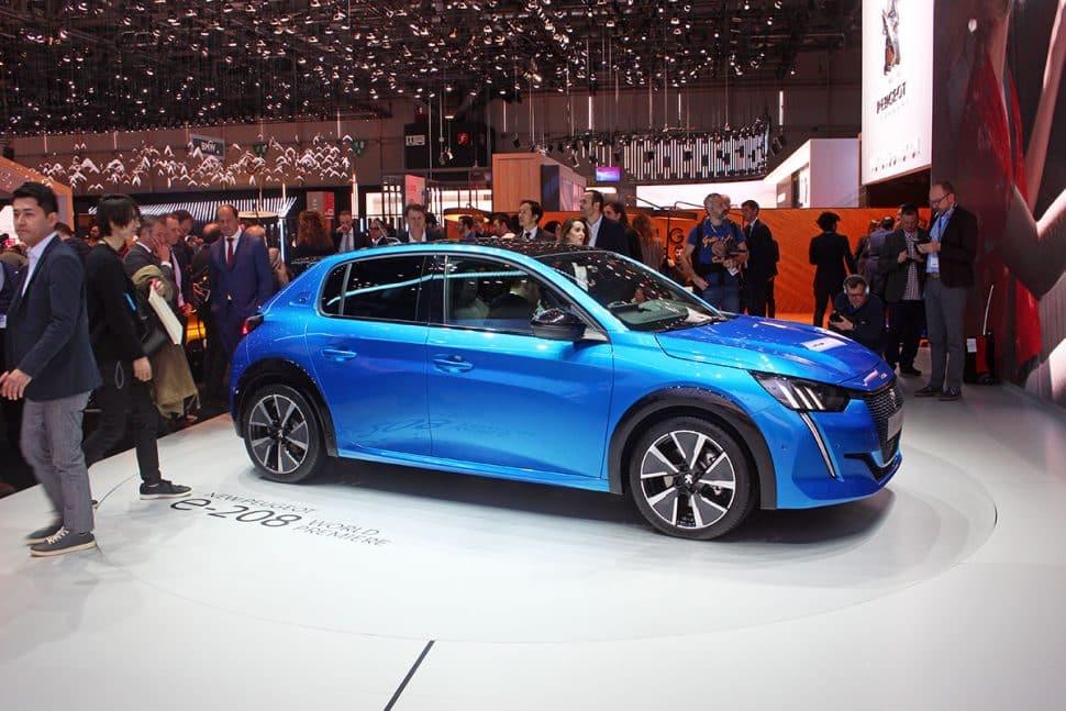 Peugeot e-208 - Geneva 2019 02 | The Car Expert