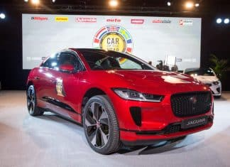 Jaguar I-Pace wins 2019 European Car of the Year