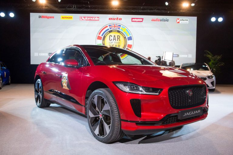 Jaguar I-Pace wins European Car of the Year prize