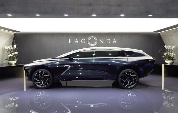 Geneva: Lagonda All-Terrain points to future luxury SUVs 1