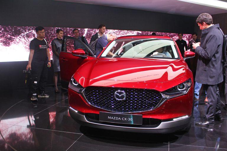 Geneva: Mazda expects big things of CX-30 SUV