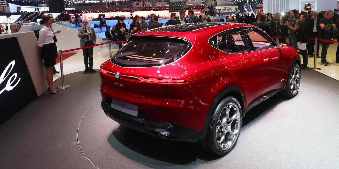Alfa Romeo Tonale concept 03 - Geneva motor show | The Car Expert