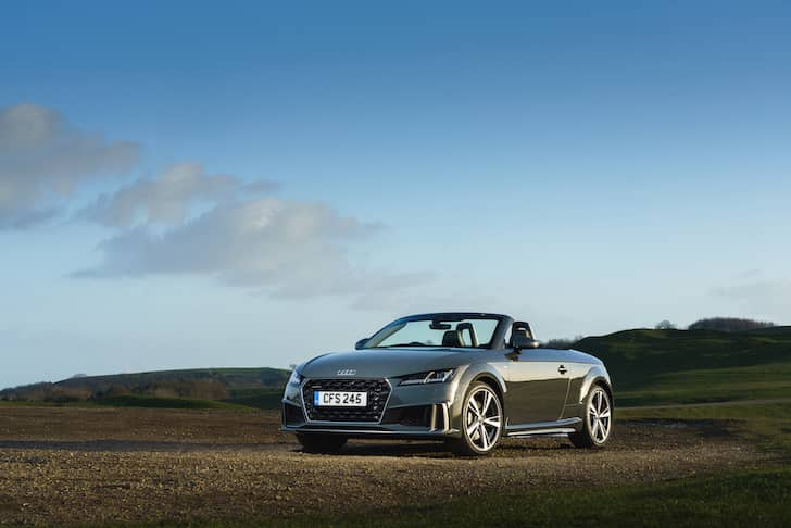 Audi TT Roadster review 2019 - front   The Car Expert