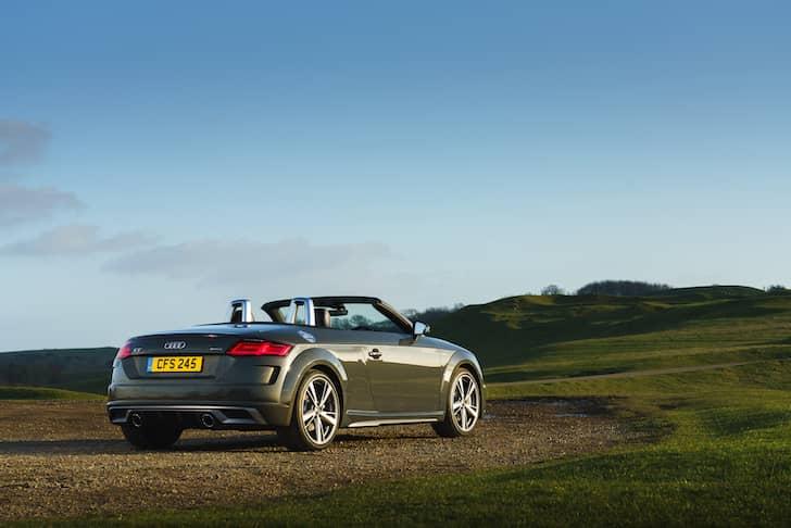 Audi TT Roadster review 2019 - rear   The Car Expert