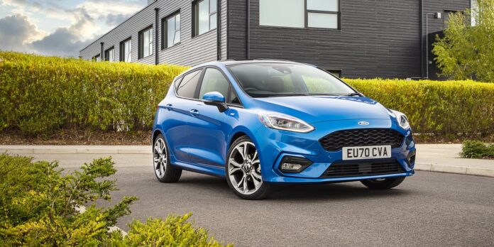 Britain's best-selling cars, February 2021