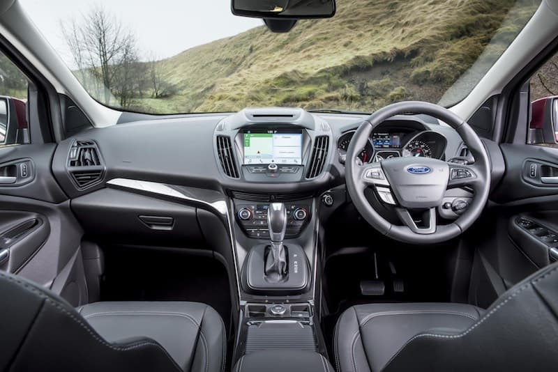 Ford Kuga dashboard | The Car Expert