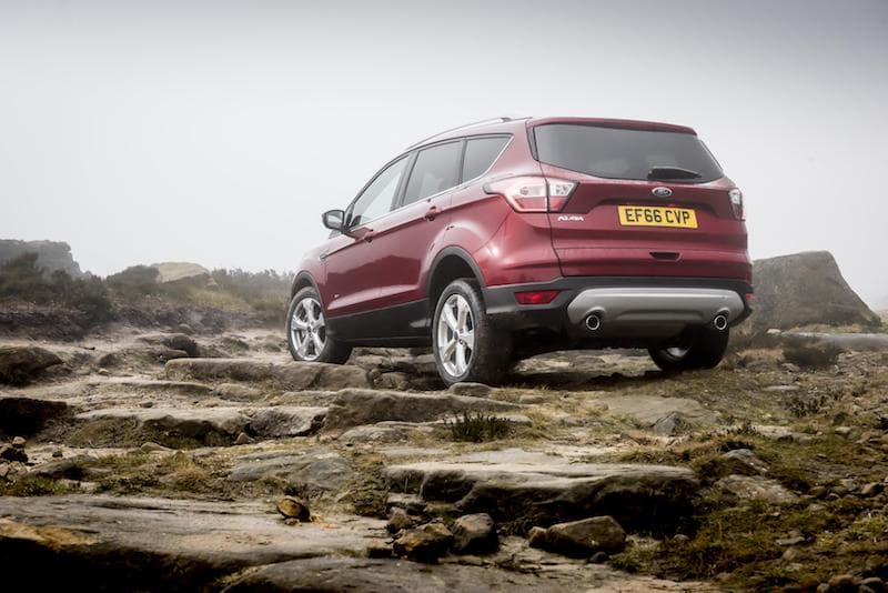Ford Kuga (2017) - rear | The Car Expert