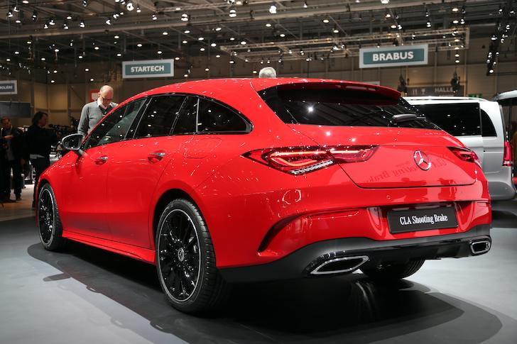 Mercedes-Benz CLA Shooting Brake rear - Geneva 2019