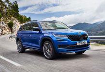 Skoda Kodiaq vRS test drive review wallpaper | The Car Expert