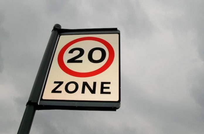 20 mph speed limit sign | The Car Expert