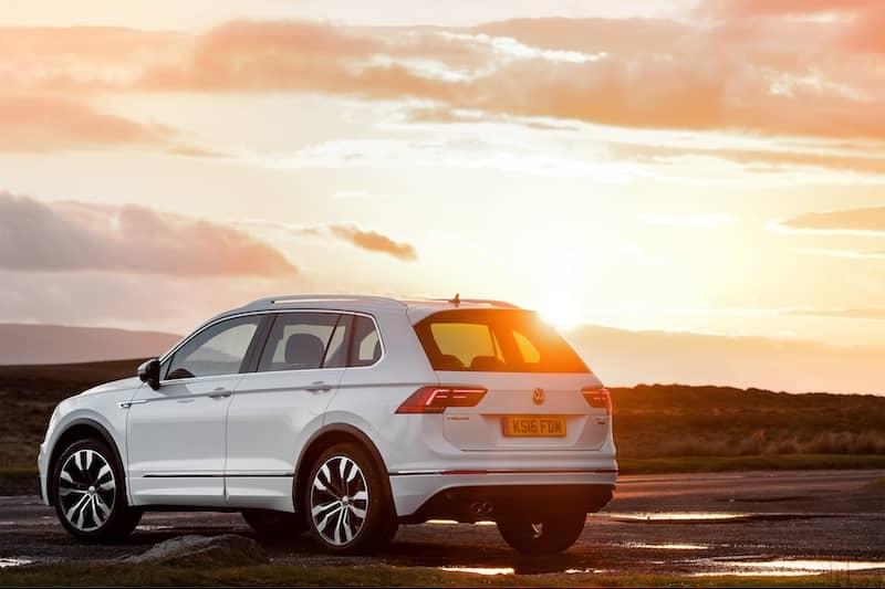 Volkswagen Tiguan (2016 - 2020) - rear view