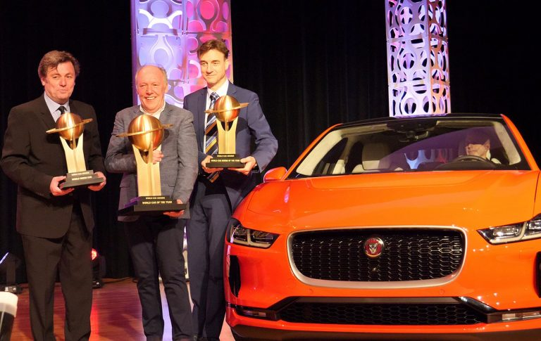 Jaguar I-Pace completes set with World Car of the Year title