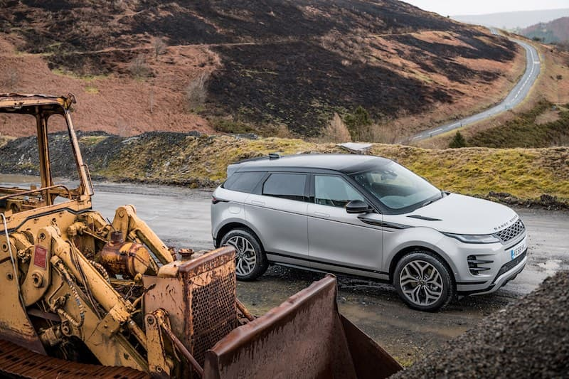 Range Rover Evoque (2019) review - overhead | The Car Expert