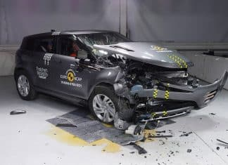 Range Rover Evoque Crash Test The Car Expert
