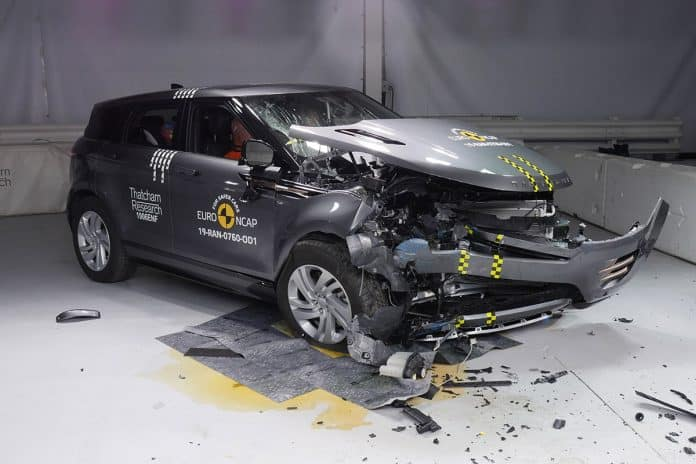 Range Rover Evoque Crash Test The Car Expert