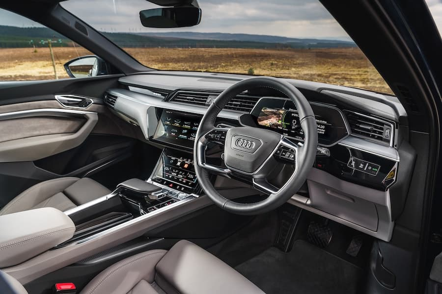 2020 Audi e-tron - interior | The Car Expert