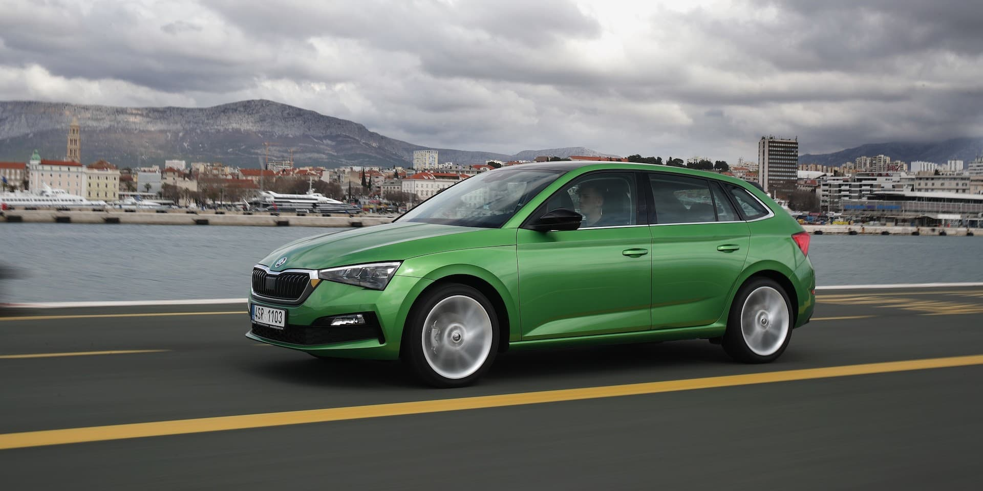 Skoda Scala Test Drive New Car Reviews 2019 The Car Expert