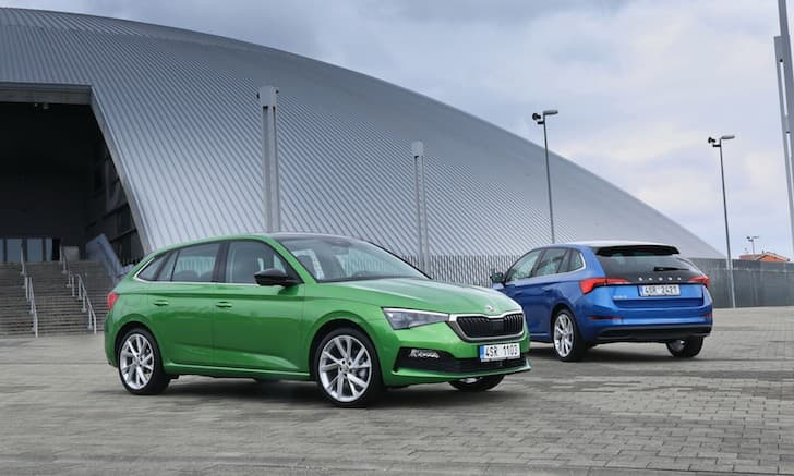 2019 Skoda Scala review - green | The Car Expert