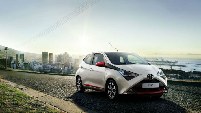 TOYOTA FASHIONS NEW AYGO LINE-UP WITH X-TREND