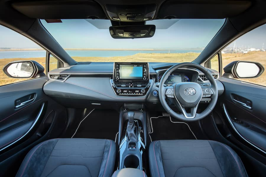 Toyota Corolla (2019) interior and dashboard   The Car Expert