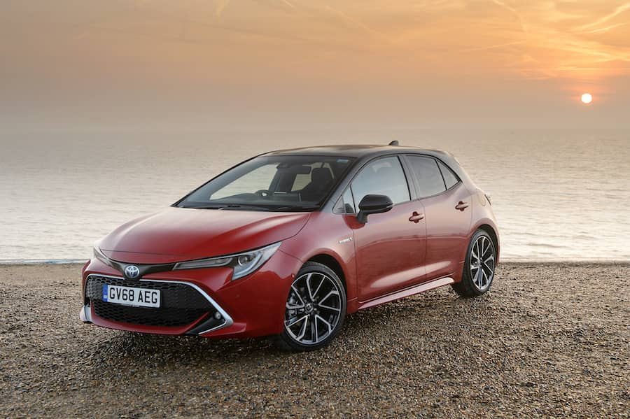 Toyota Corolla hatch (2019) front view   The Car Expert