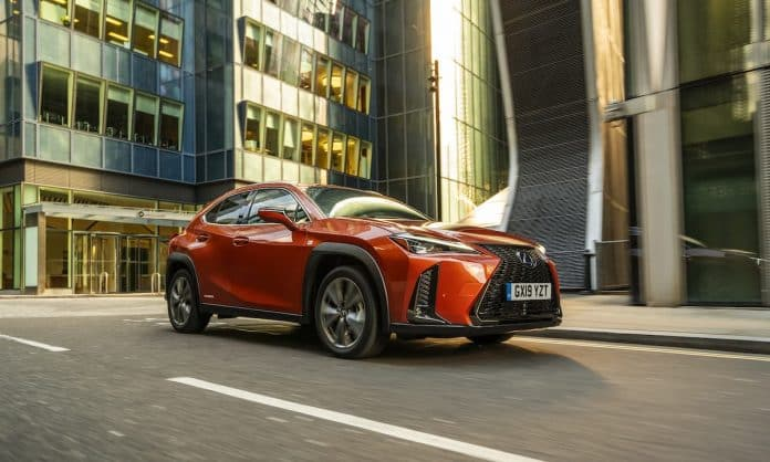 New Lexus UX leads on savings for business motorists