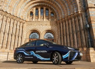 Natural History Museum harnesses hydrogen power with the Toyota Mirai