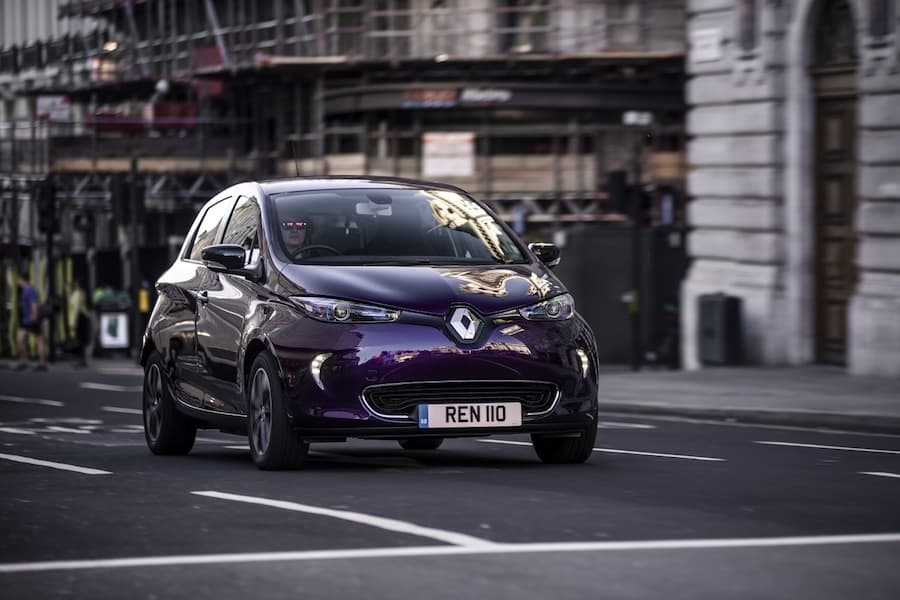 Renault Zoe (2019) front view | The Car Expert