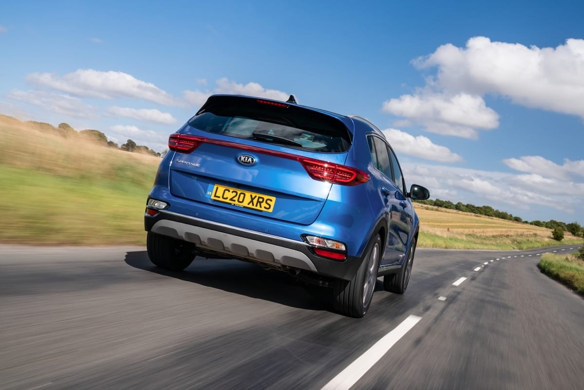 Kia Sportage (2015 - 2021) - rear view