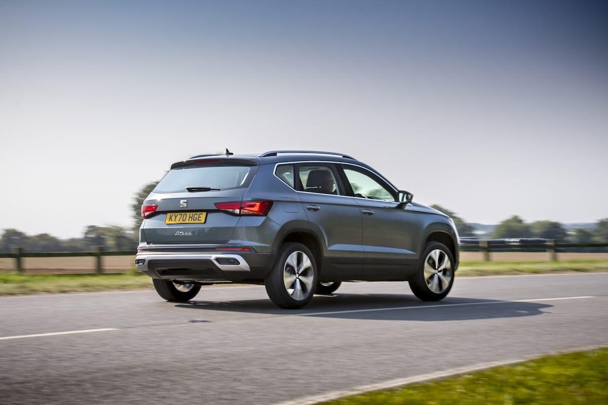 SEAT Ateca (2021 onwards) - rear view