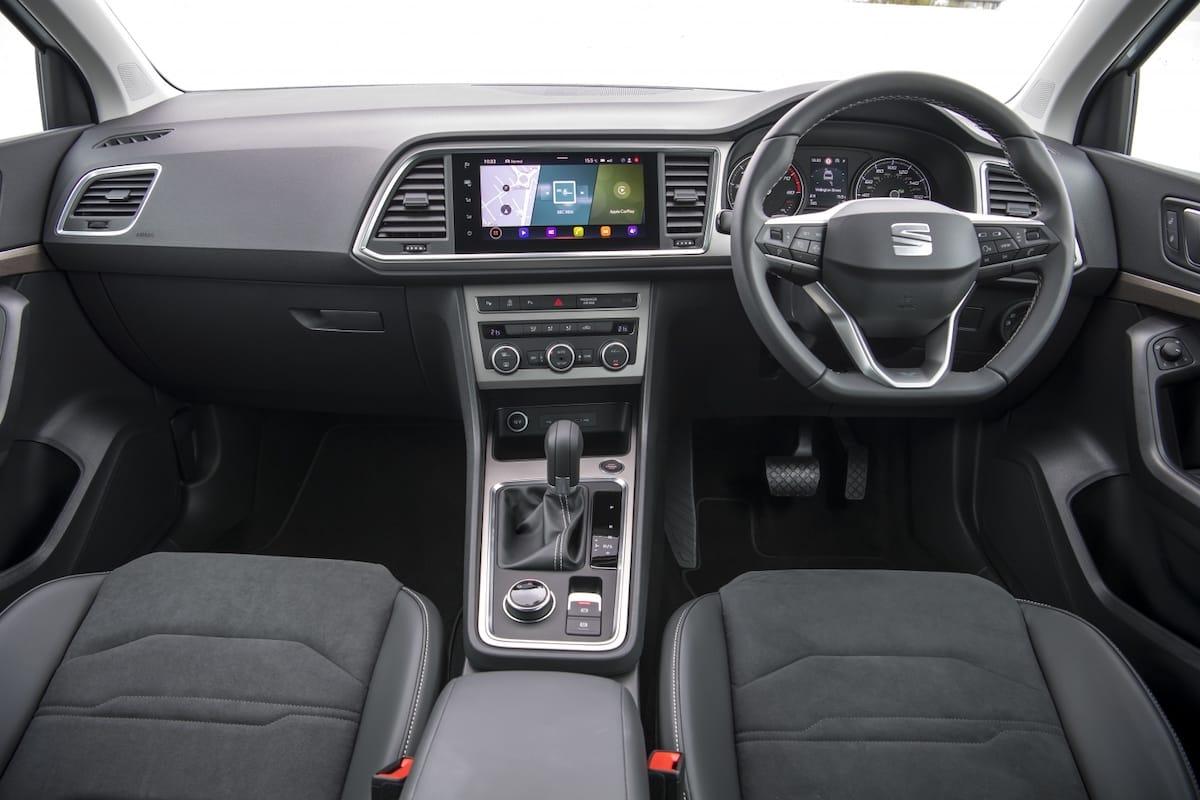SEAT Ateca (2021 onwards) - interior and dashboard