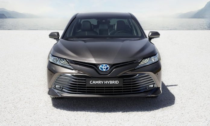 Toyota announces prices for all-new Camry Self-Charging Hybrid saloon
