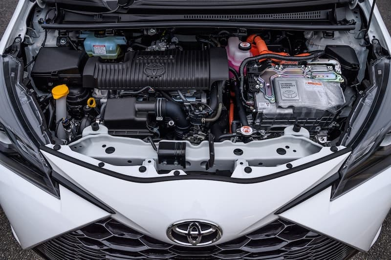 Toyota Yaris GR Sport engine | The Car Expert