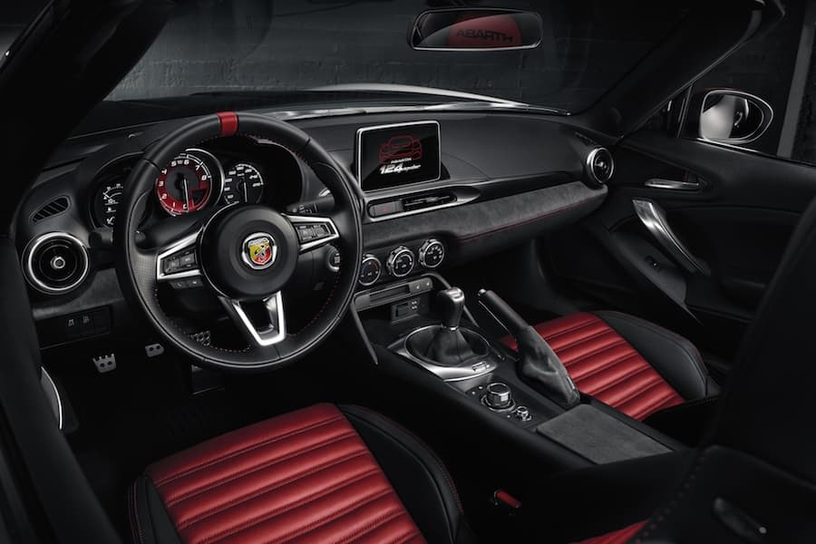 Abarth 124 Spider (2016 - present) interior | The Car Expert