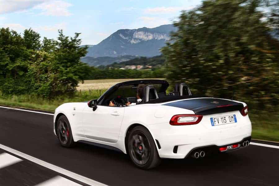 Abarth 124 Spider (2016 - present) rear | The Car Expert