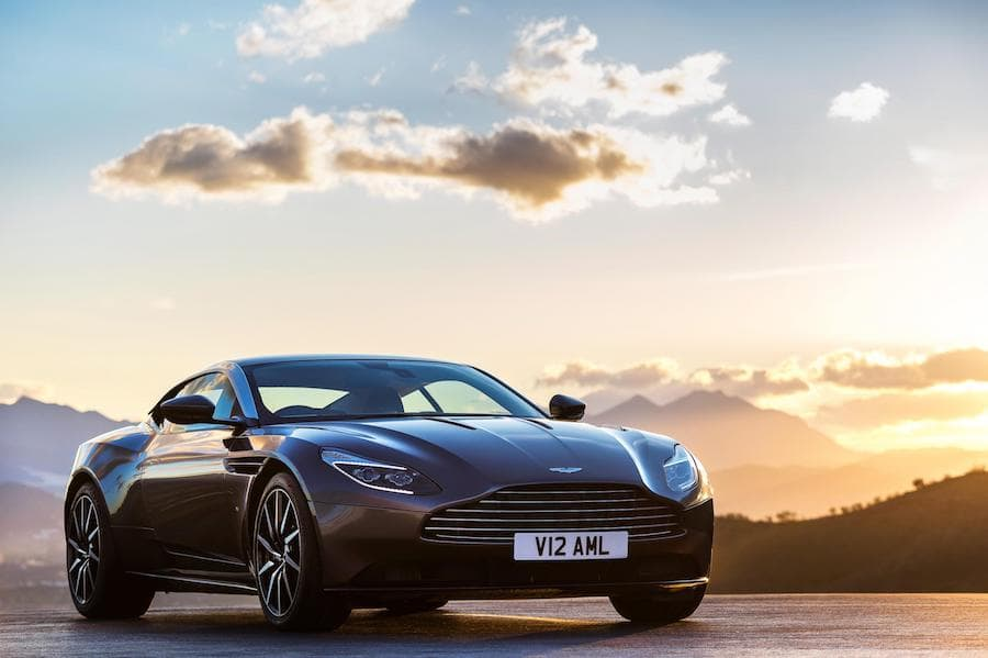 Aston Martin DB11 (2016 - present) front view | The Car Expert