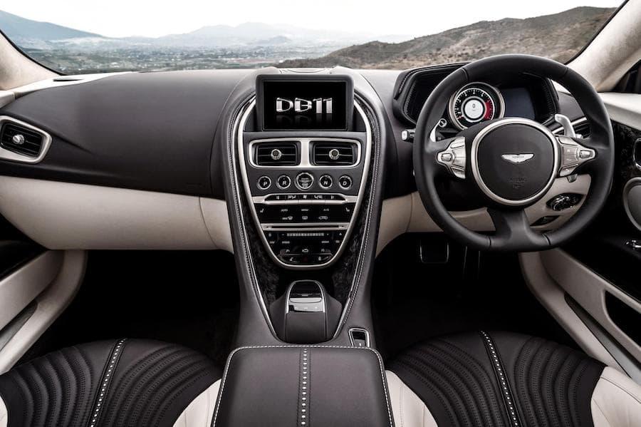 Aston Martin DB11 (2016 - present) interior and dashboard | The Car Expert