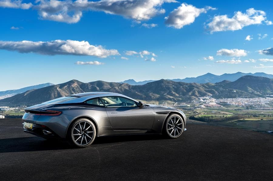 Aston Martin DB11 (2016 - present) rear view | The Car Expert