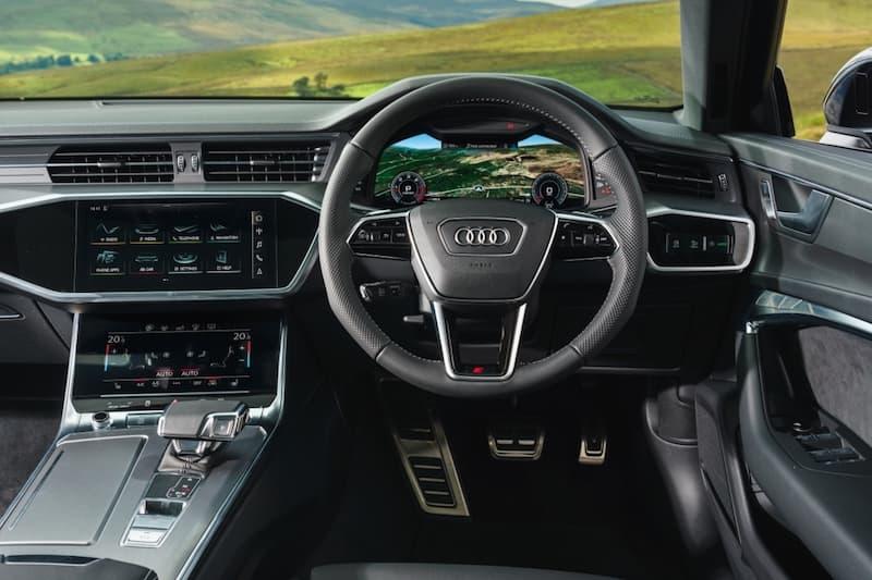 Audi A6 (2018) dashboard | The Car Expert