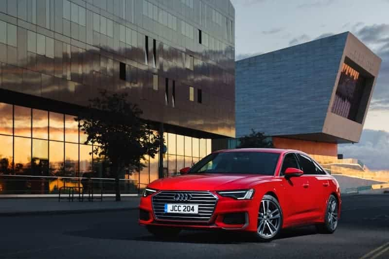 Audi A6 saloon (2018) front   The Car Expert