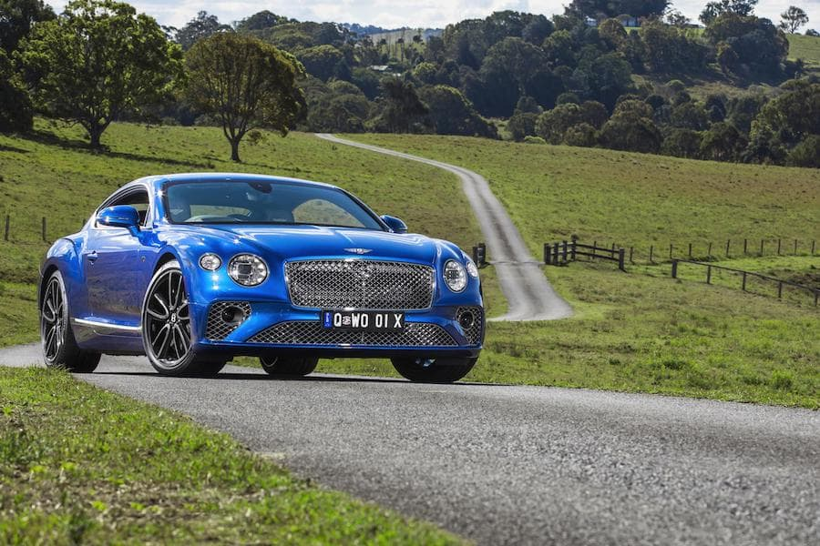Bentley Continental GT (2018 - present) front view | The Car Expert