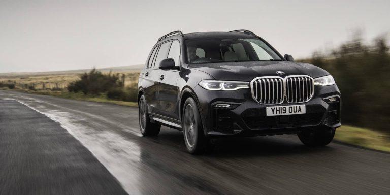 BMW X7 test drive