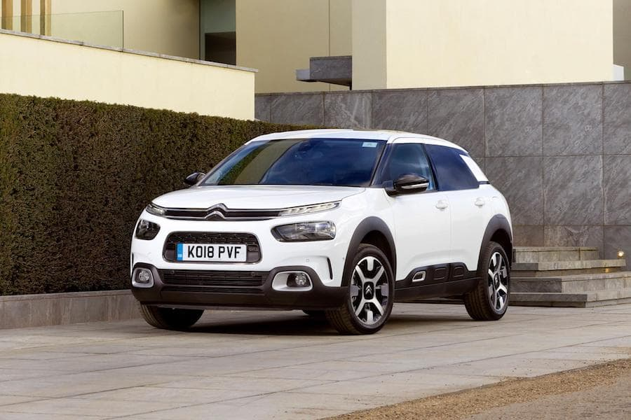 Citroën C4 Cactus (2018) front view | The Car Expert