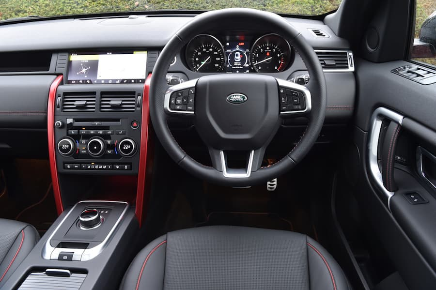 Land Rover Discovery Sport (2015) dashboard | The Car Expert