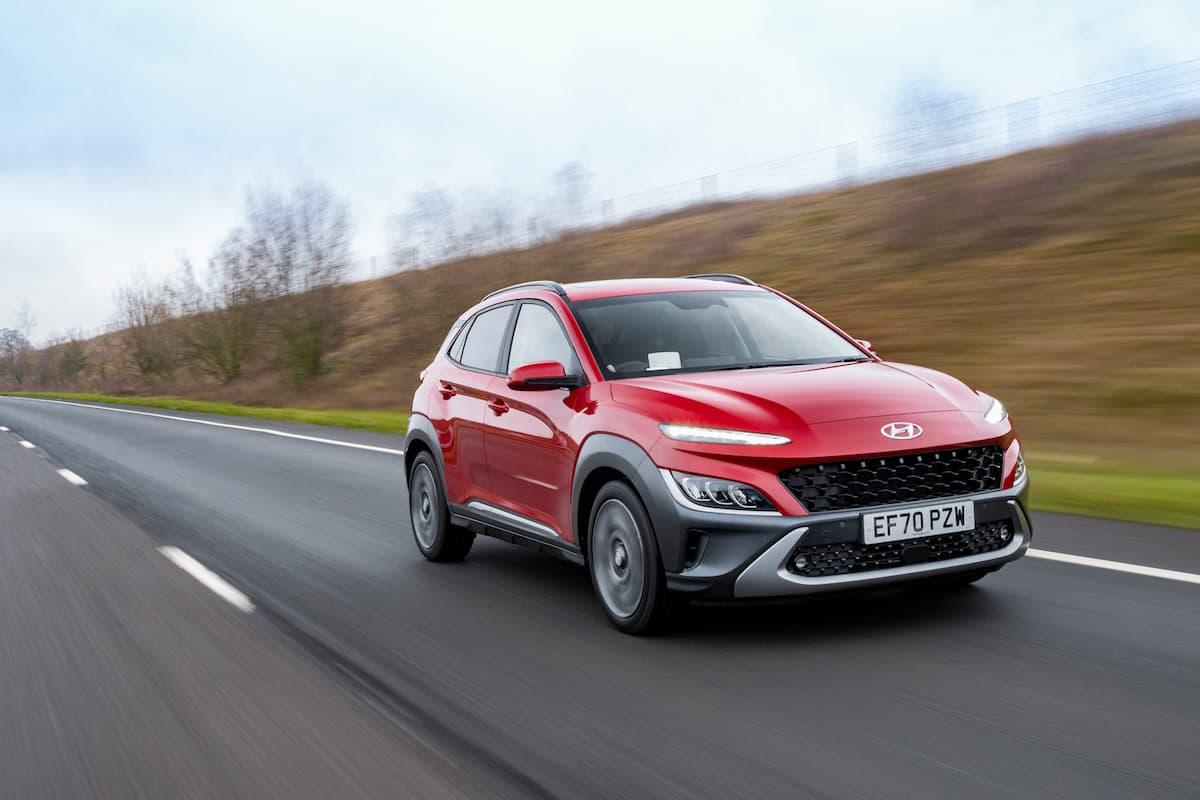 Hyundai Kona (2021 onwards) - front