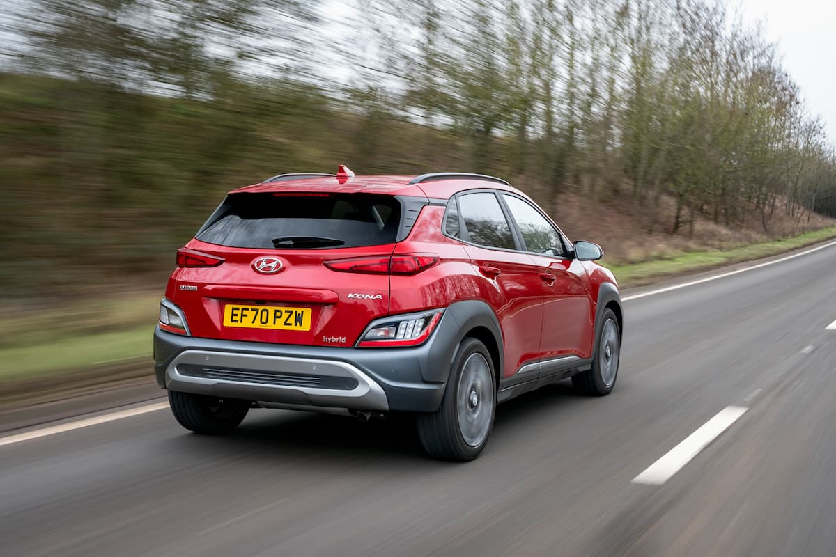 Hyundai Kona (2021 onwards) rear view
