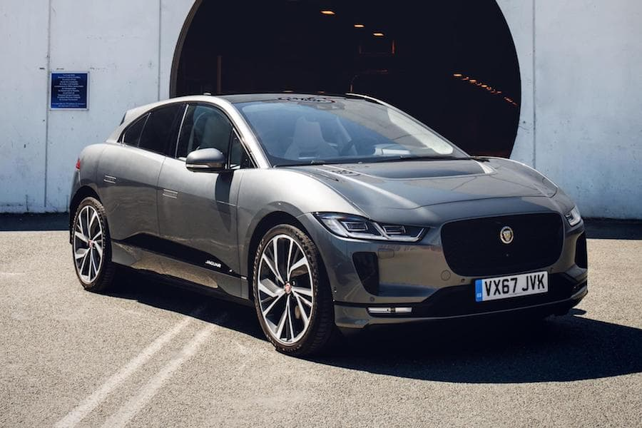 Jaguar I-Pace (2018) front view | World Car of the Year