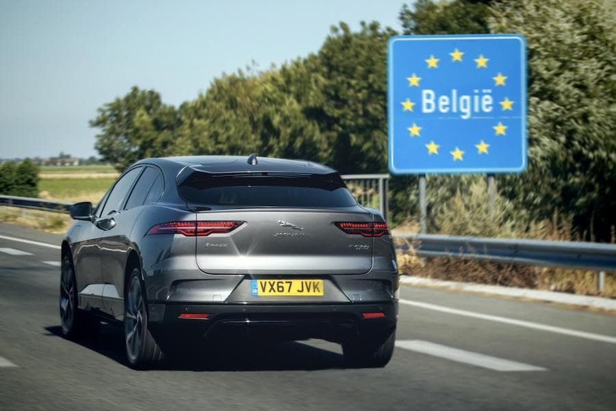 Jaguar I-Pace (2018) rear view | The Car Expert