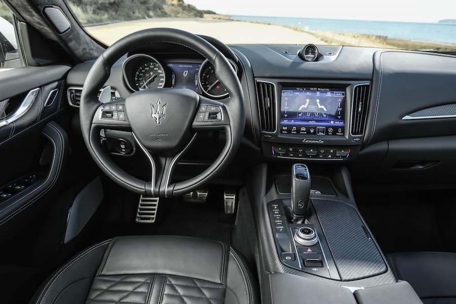 Maserati Levante (2016 - present) interior and dashboard | The Car Expert