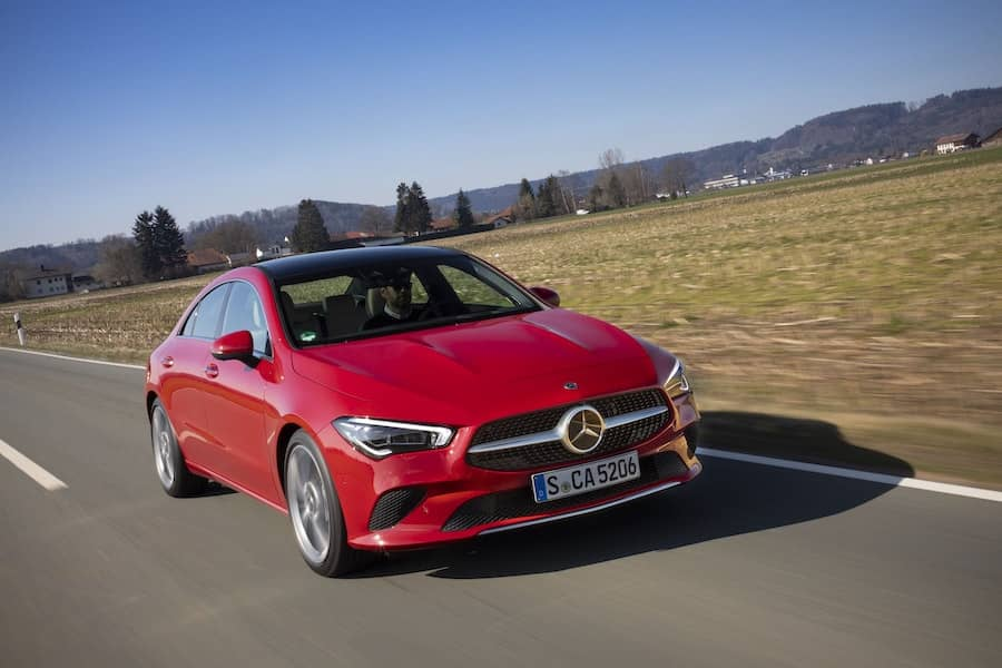 Mercedes-Benz CLA road test 2019 - front | The Car Expert